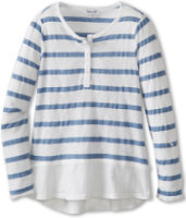 Splendid Canyon Chambray Stripe Top