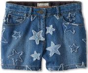 Stella McCartney Phoenix Star Denim Shorts