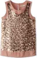 Stella McCartney Popsy Sleeveless Sequin Blouse