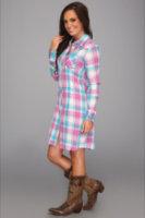 Stetson 8624 Mardi Gras Plaid Dress