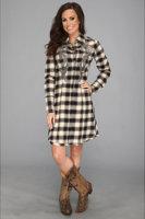 Stetson 8903 Deco Ombre Plaid Dress