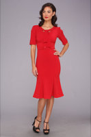 Stop Staring for The Cool People Rouge A-Line Dress