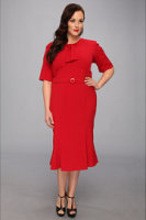 Stop Staring for The Cool People Rouge A-Line Dress Plus Size