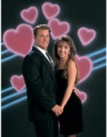 Studio Dynamics Holiday Scenic Series 10x10' Muslin Background Valentine # 1.