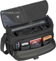 Tamrac 3447 Rally 7 Camera/Laptop Bag for DSLR with 7.25 inch Lens Attached Extra Lens Flash or 15.6 inch Screen Laptop Black