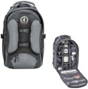 Tamrac 5587 Expedition 7x Backpack for SLR Camera Flash with Accessories & 15.4  Laptops Black