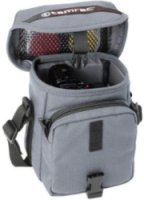 Tamrac 600 Expo . Small Shoulder Bag for Point & Shoot Cameras or Small Binoculars Gray.