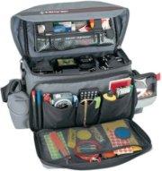 Tamrac 608 Pro System 8 Shoulder Bag for Small 35mm or Digital SLR Camera Systems Gray.