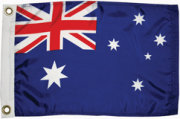 Taylor Made Australia Courtesy Flag