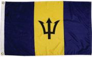 Taylor Made Barbados Courtesy Flags