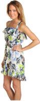 Tbags Los Angeles Ruffle Cami Dress