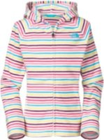 The North Face Striped Glacier Full Zip Hoodie