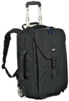 Think Tank Airport Takeoff Check In Rolling Backpack for 2 Pro DSLR Cameras with / without Lenses & up to a 300mm Lens 15  Laptop & More