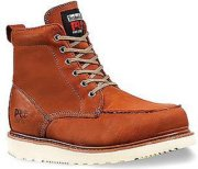 Timberland Wedge Sole Moc with Steel Toe