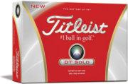 Titleist DT Solo Golf Ball - 12 pack