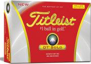 Titleist DT SoLo Golf Ball (Yellow)