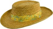 Tommy Bahama Braided Raffia Gambler Hat