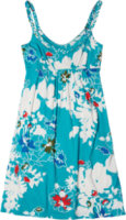Tommy Bahama Inked Floral Braided Dress
