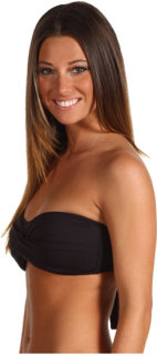 Tommy Bahama Pearl Solids Twist Bandeau Top