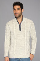 Tommy Bahama Sausalito Cable Half Zip Sweater