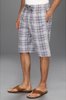 Tommy Bahama Seersucker Plaid Lounge Shorts