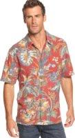 Tommy Bahama Short Sleeve Laurel Floral Shirt