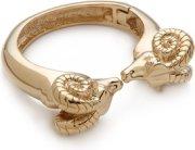 Tory Burch Ram Head Hinge Bracelet
