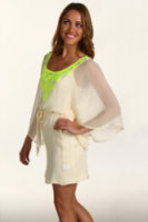 Twelfth Street by Cynthia Vincent Embroidered Caftan