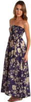 Twelfth Street by Cynthia Vincent Shirred Midi with Removable Straps