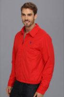 U.S. Polo Assn Micro Golf Jacket w/ Polar Fleece Lining