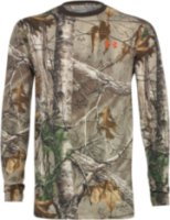 Under Armour Armor Long Sleeve Charged Cotton Camo T-Shirt
