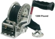 Unified Marine SeaSense Stainless Steel Winch with Strap