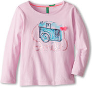 United Colors of Benetton Long Sleeve Graphic Tee
