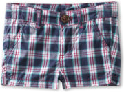 United Colors of Benetton Plaid Shorts