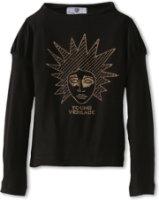 Versace Jersey L/S Punk Medusa Tee