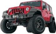 Warn Elite Rear Bumper For Jeep Wrangler Jk