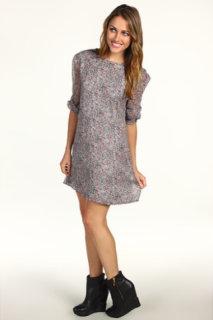 Winter Kate Silk Crinkle Chiffon Dress