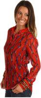 Winter Kate Silk Crinkle Chiffon Jacket
