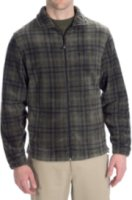 Woolrich Andes Fleece Plaid Jacket