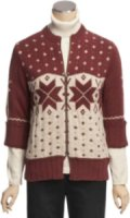 Woolrich Fair Isle Cardigan Sweater