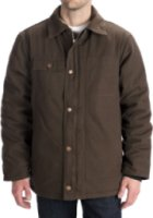 Work King Washed Canvas Parka - Hooded Insulated)