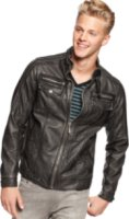 X-Ray Faux Leather Moto