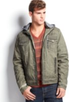 X-Ray Hooded Jacket