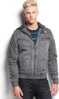 X-Ray Hooded Zip Jacket