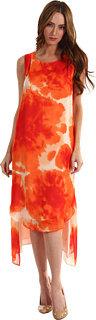 Y's by Yohji Yamamoto K-Tucked Neck Long Dress